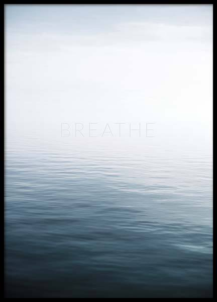 Breathe by the Sea Plakat i gruppen Plakater / Naturmotiv hos Desenio AB (10491)