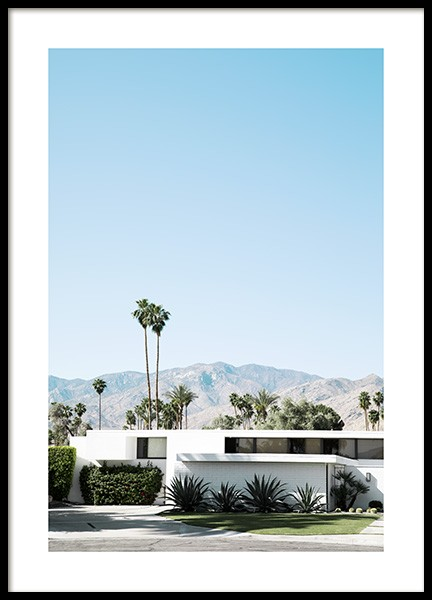 Palm Springs Modernism Plakat i gruppen Studio Collections / Studio Coast to Coast / Palm Springs hos Desenio AB (10796)