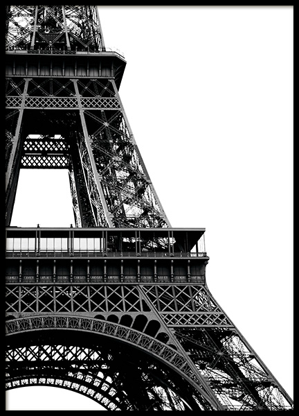 Eiffel Tower Close Up Plakat i gruppen Studio Collections / Studio Cosmopolitan hos Desenio AB (11330)