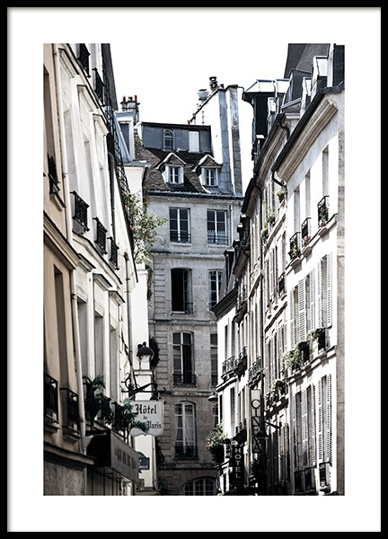 Paris Alley Plakat i gruppen Studio Collections / Studio Cosmopolitan hos Desenio AB (11350)