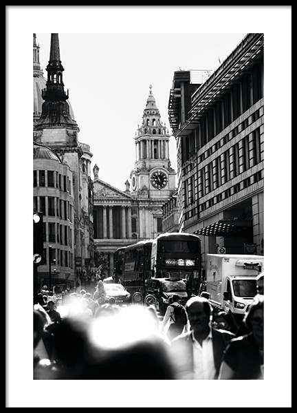 Streets of London Plakat i gruppen Studio Collections / Studio Cosmopolitan hos Desenio AB (11365)