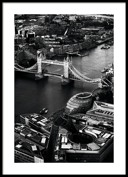 View of Tower Bridge Plakat i gruppen Studio Collections / Studio Cosmopolitan hos Desenio AB (11375)