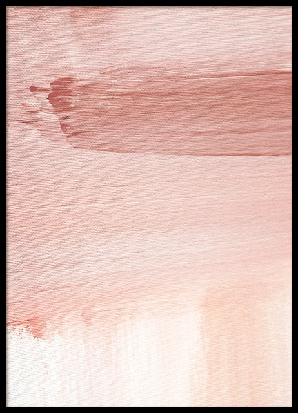 Abstract Painting Pink No1 Plakat i gruppen Plakater / Kunstmotiv hos Desenio AB (12894)
