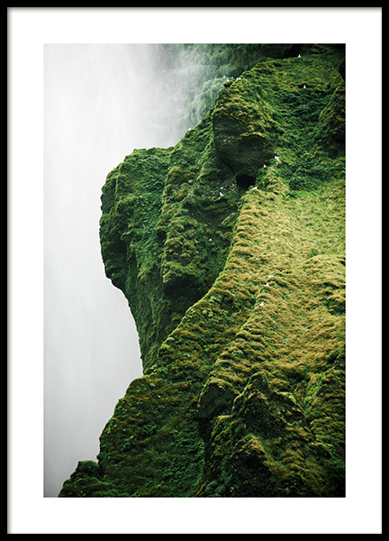 Cliff Back Plakat i gruppen Plakater / Studio Collections / Studio Elements hos Desenio AB (13352)
