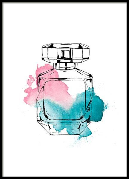 Perfume Color Three Plakat i gruppen Plakater / Fashion  hos Desenio AB (2586)