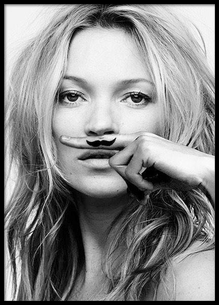 Kate Moss, Life Is A Joke, Plakat i gruppen Plakater / Fashion  hos Desenio AB (8422)