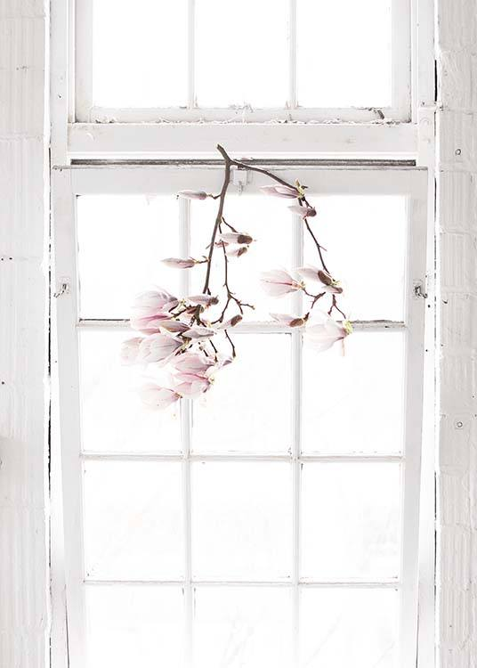 Flowers In The Window Plakat / Fotokunst hos Desenio AB (10182)