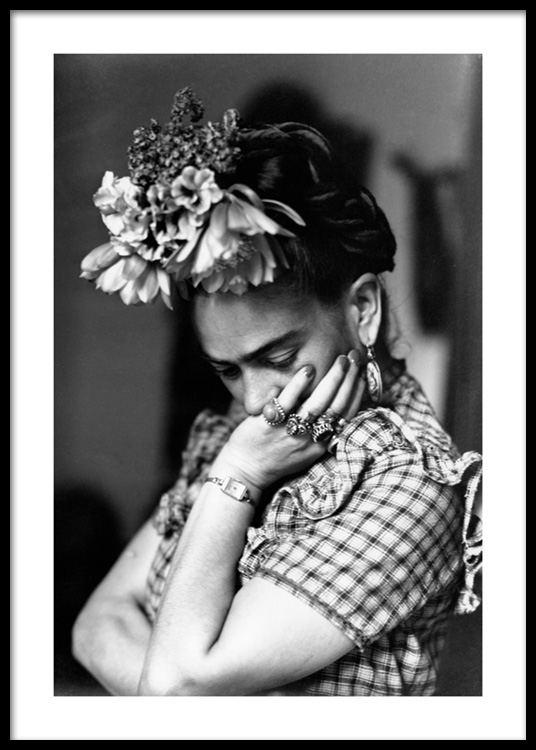 Artist Frida Kahlo Plakat